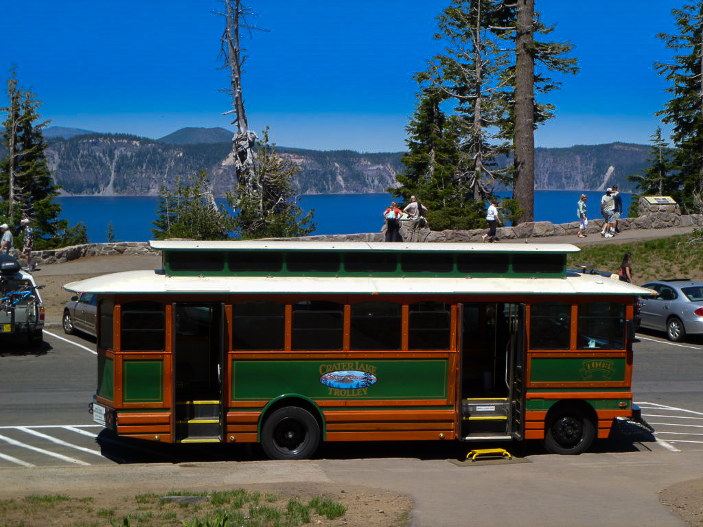 Image Courtesy of Crater Lake Trolley