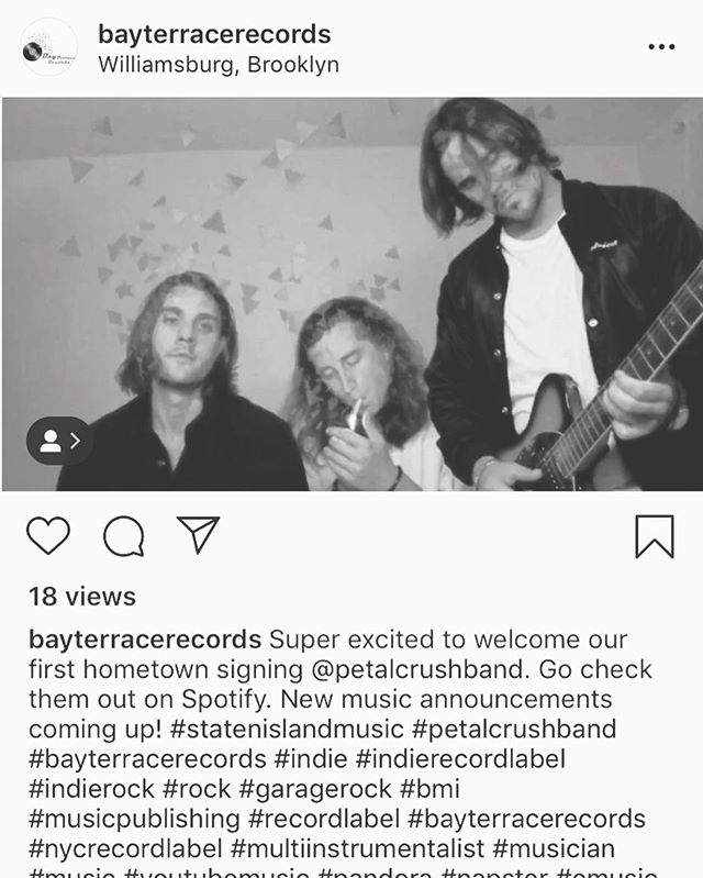 Bay Terrace records takes the reigns on PC release and promotion! Thanks boys @bayterracerecords