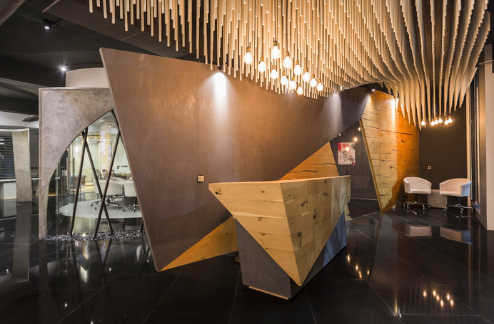 Studio Ardete Pvt Ltd  has designed the new offices of Atelier Krikos located in Punjab, India.