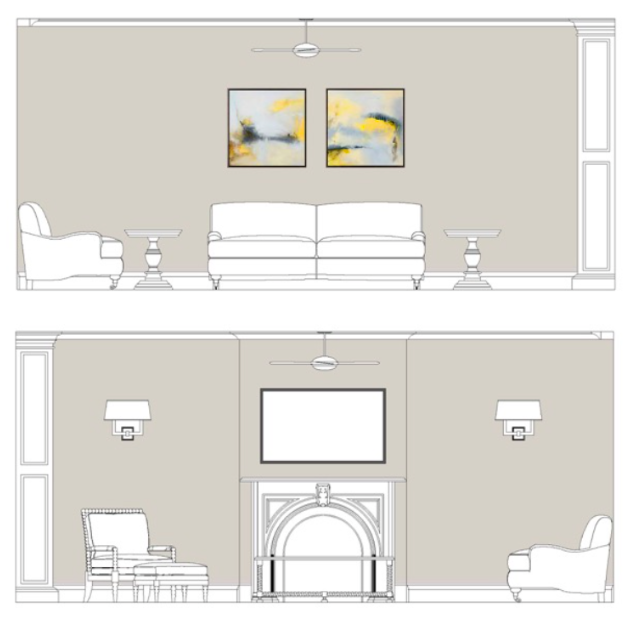 Room Elevations