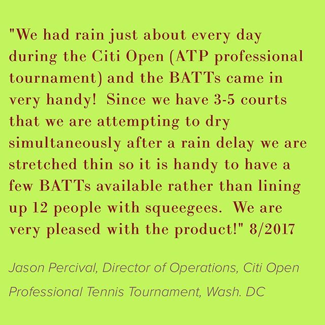 Looks like the Citi Open needs help from the Battowels again.  Rain rain rain.☂️