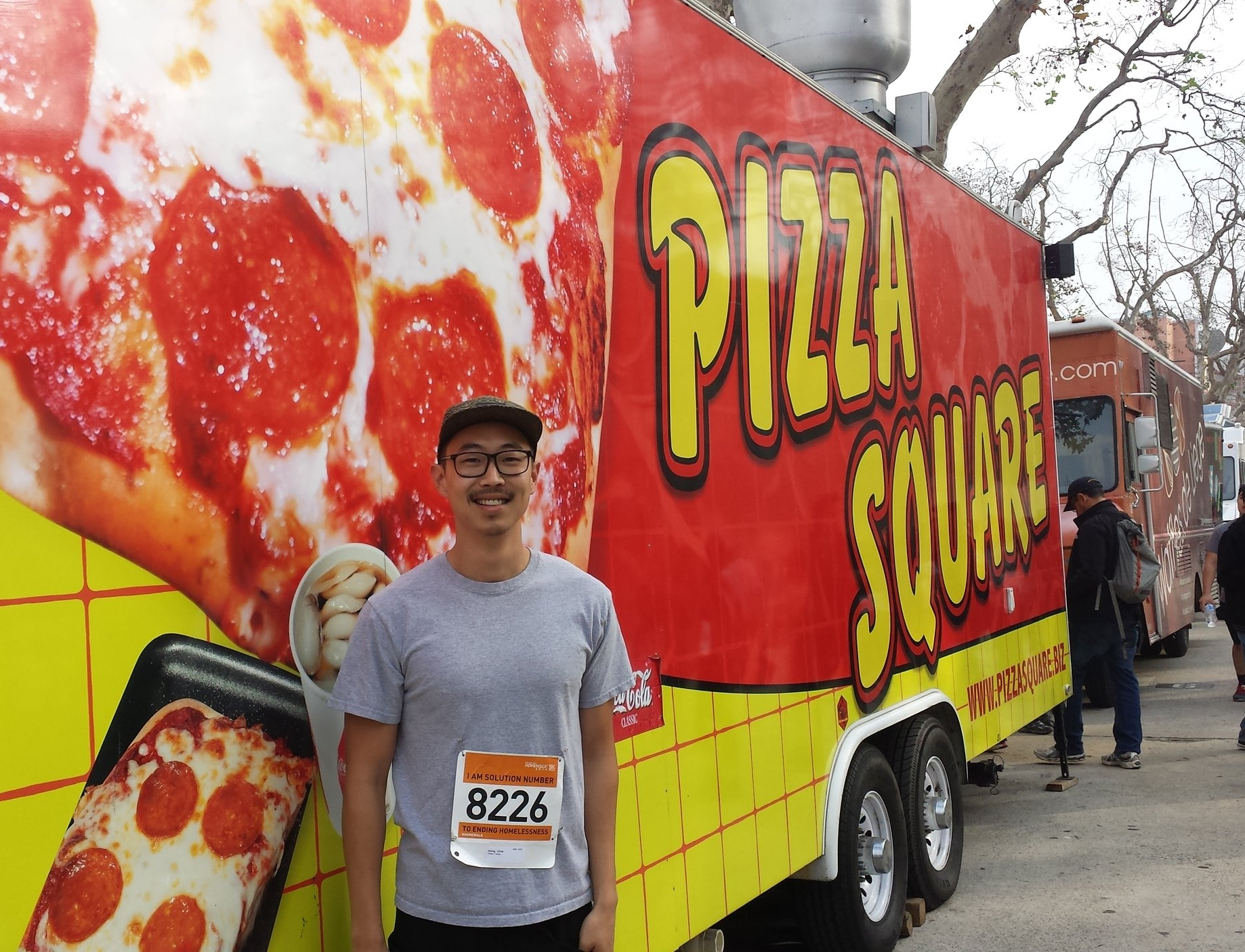Eating pizza or running a 10k?