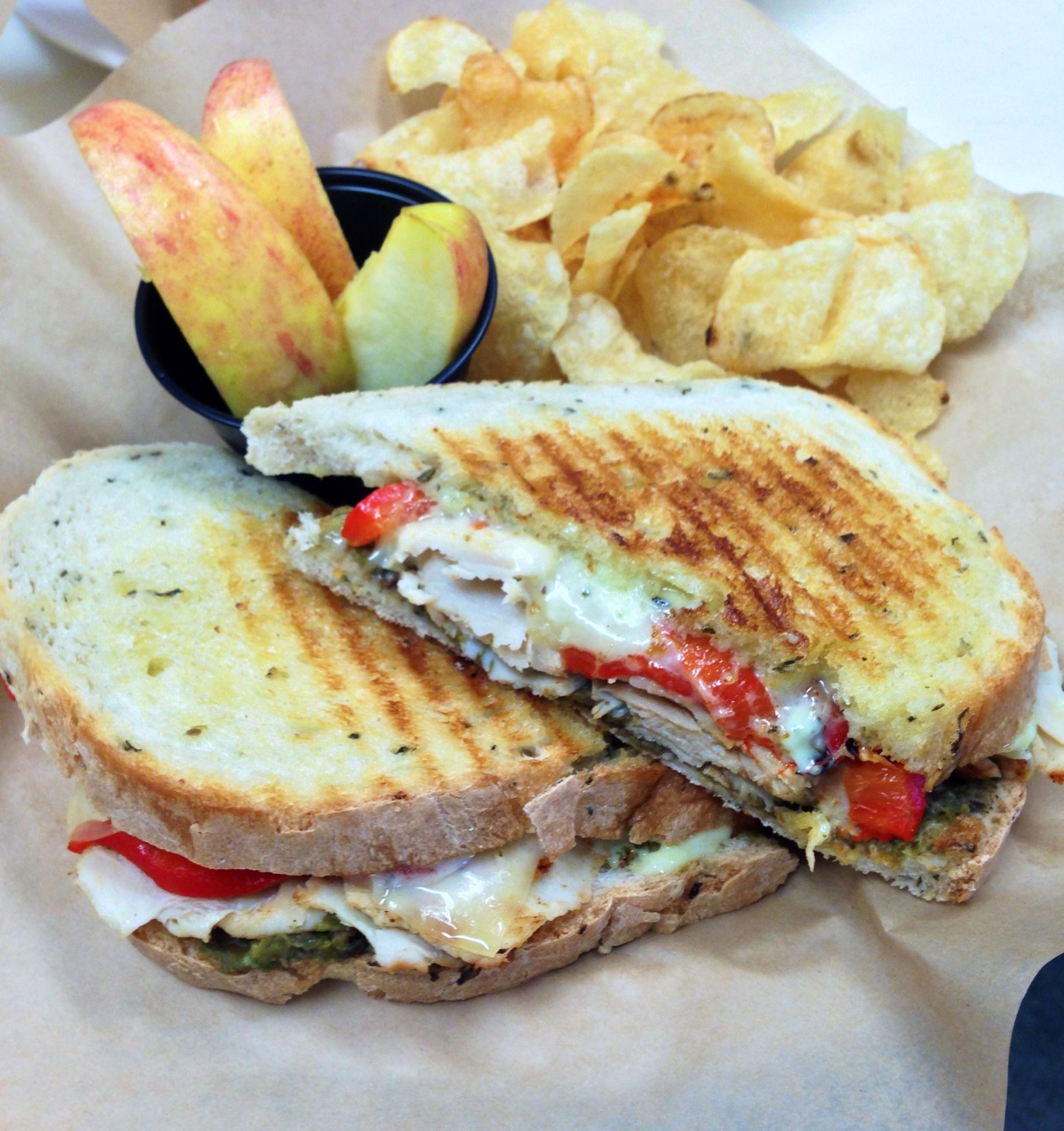 Friske Farm Market Cafe sandwich to go near Charlevoix michigan