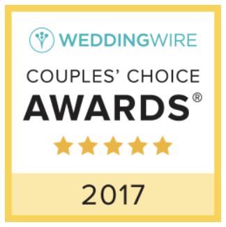Winner 2017 Wedding Wire