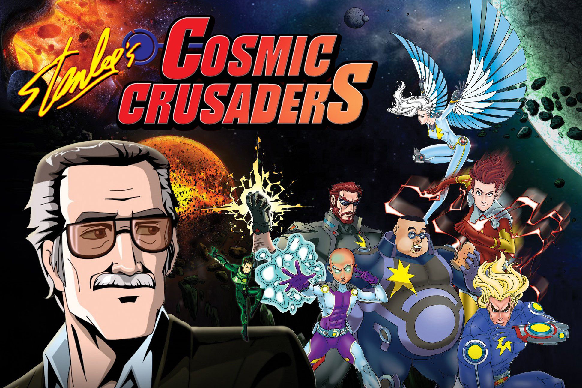 Copy of Stan Lee's Cosmic Crusaders