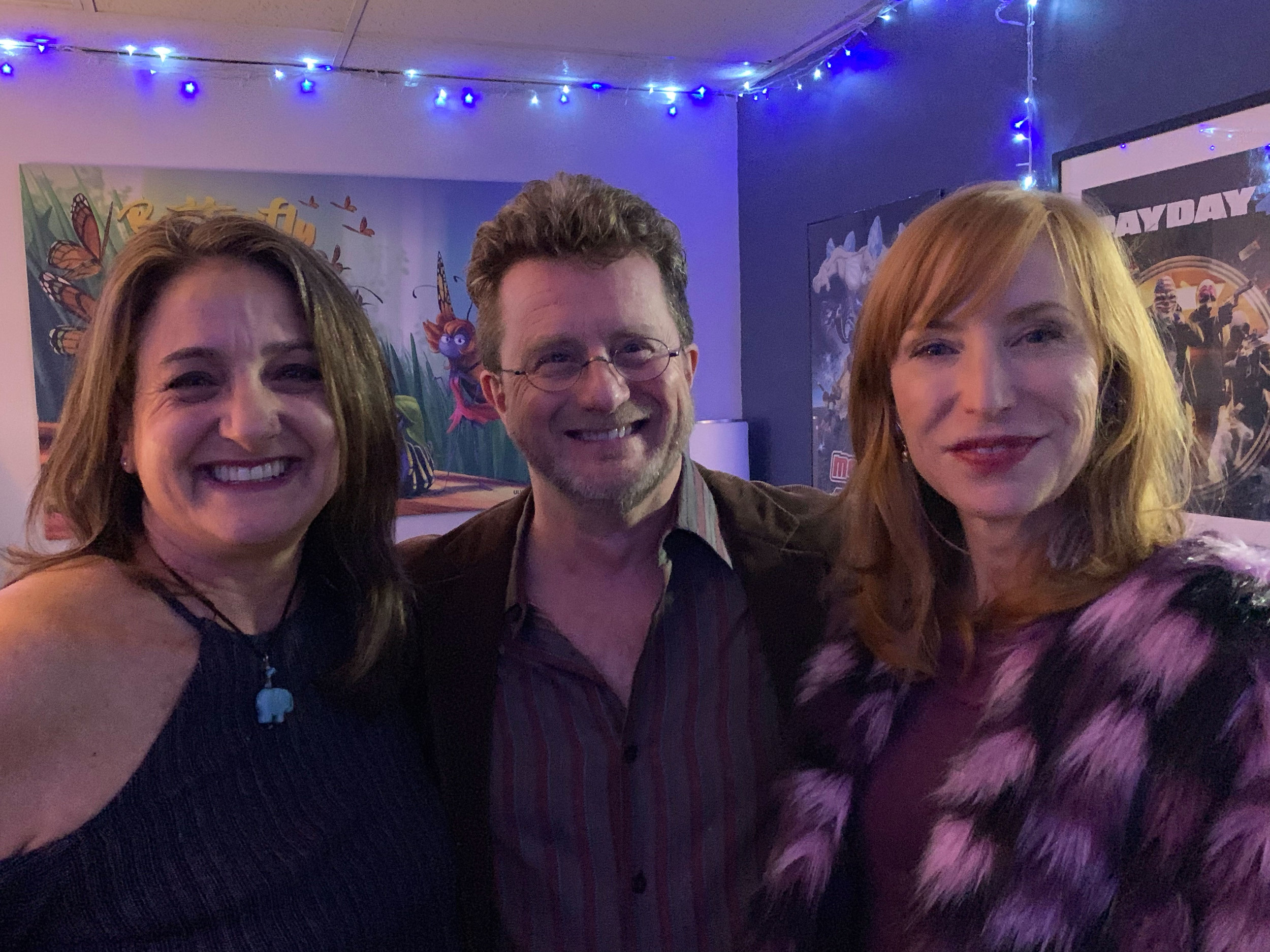 Michaela Hart, Chris Jenkins, and Karen Strassman