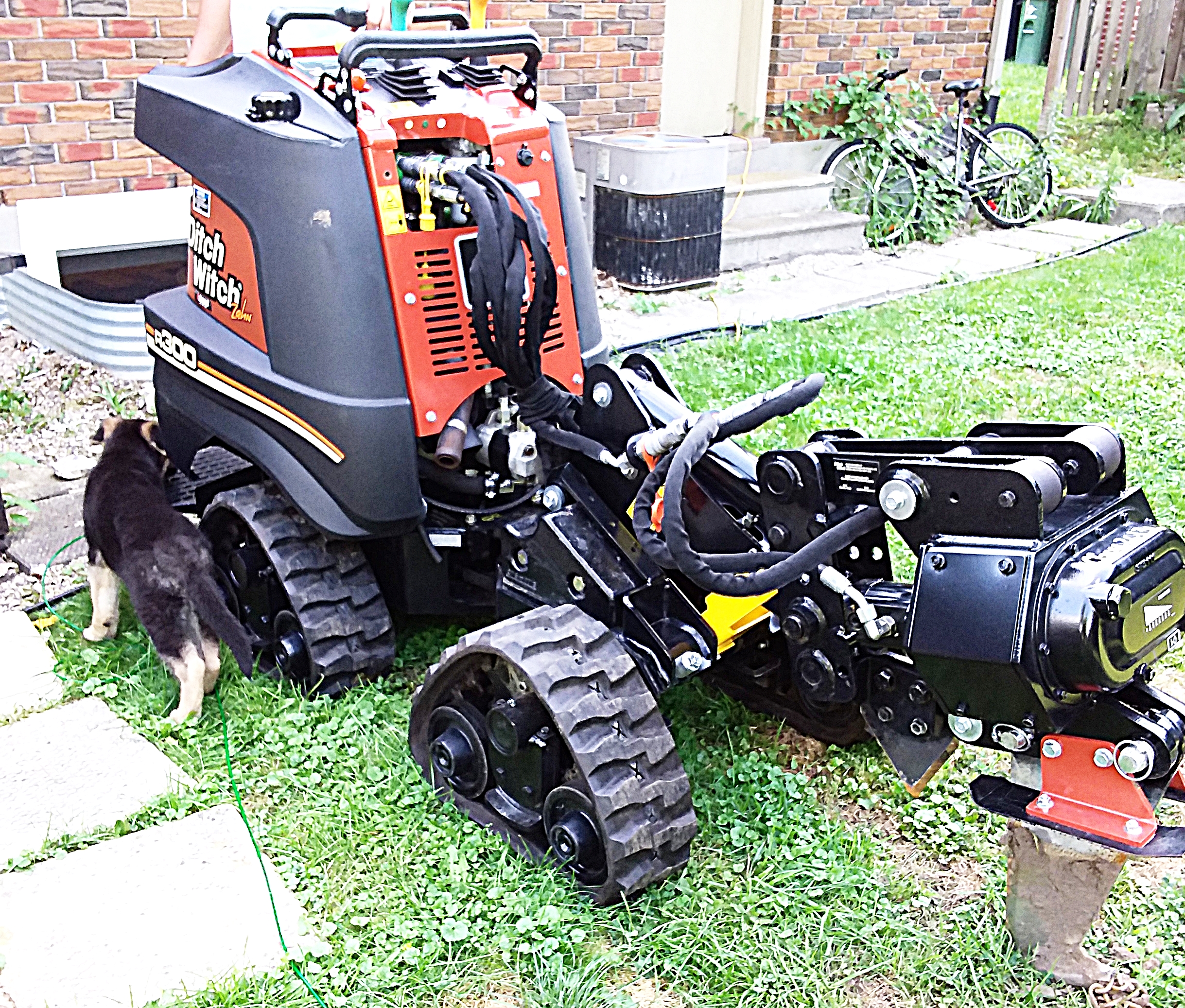 Ditch Witch Zahn R300 and Goose
