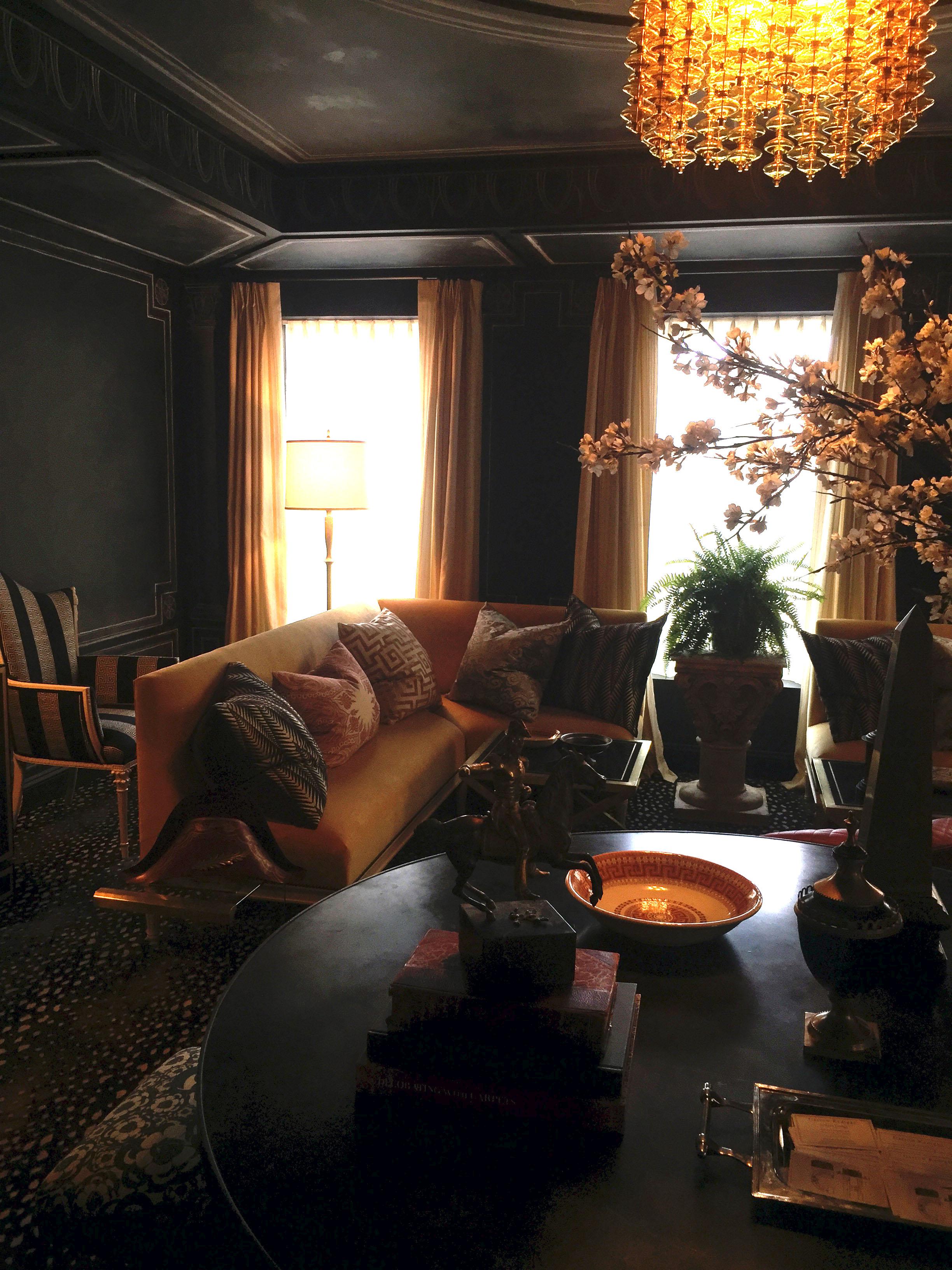 Sitting Room by Garrow Kedigian Interior Design