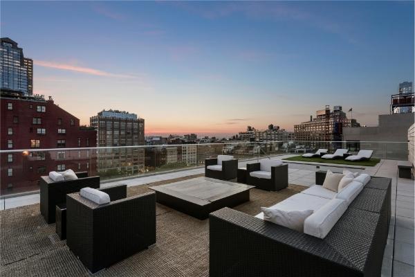11 N Moore Penthouse Terrace via  Streeteasy