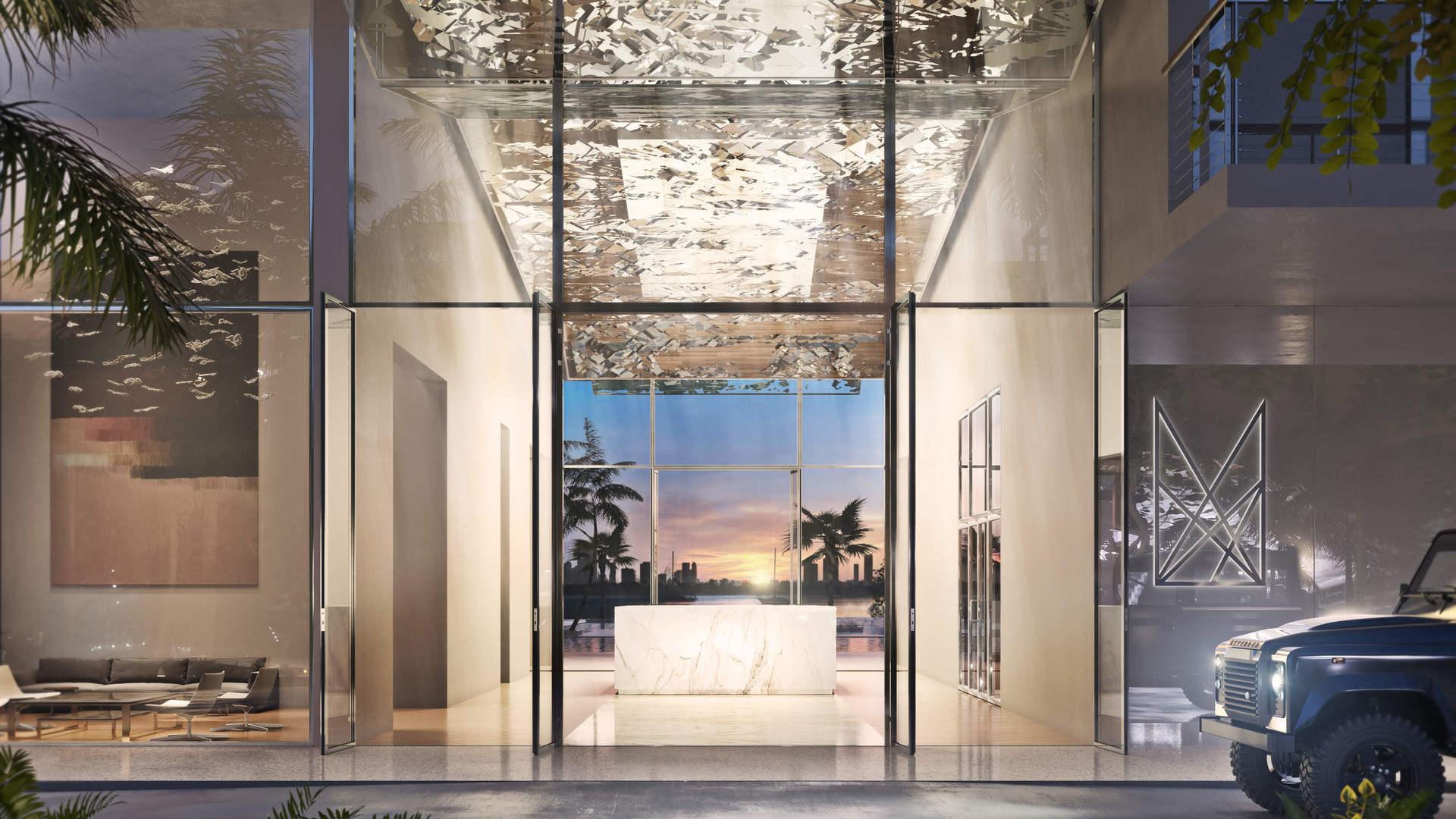 Monad Terrace Entrance