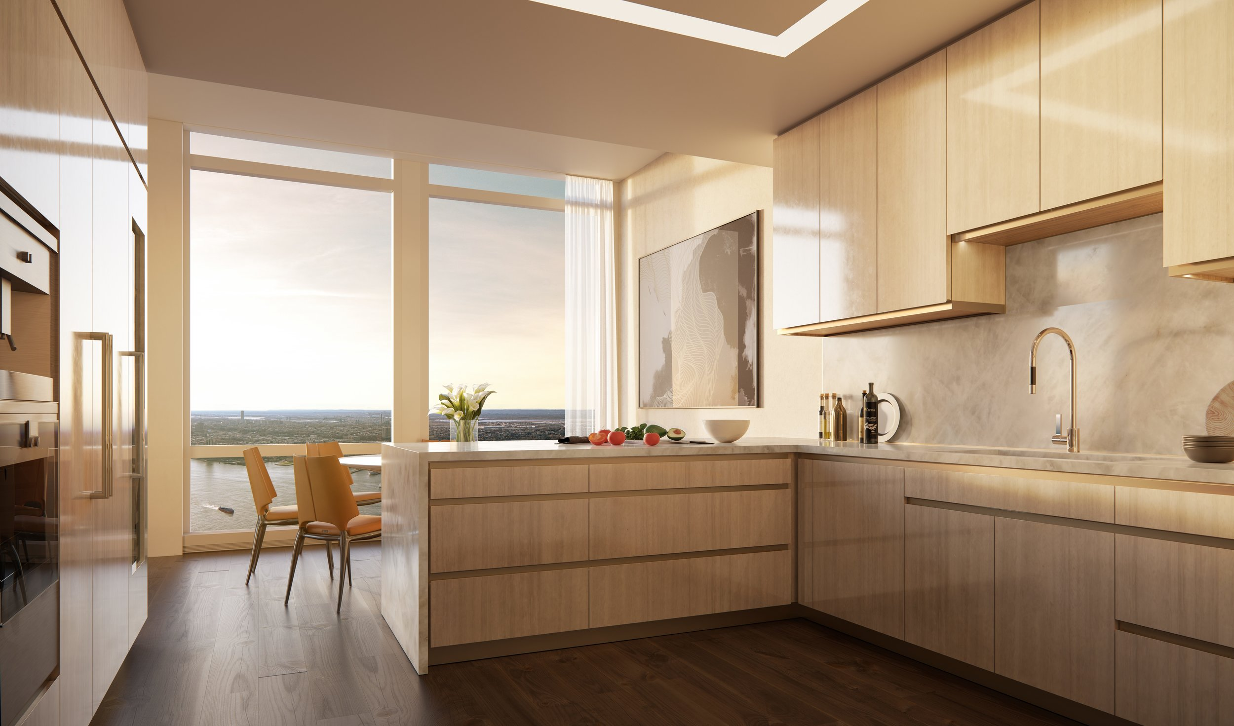 35 Hudson Yards Kitchen Smallbone