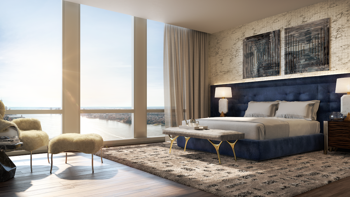 35 Hudson Yards Condo Bedroom