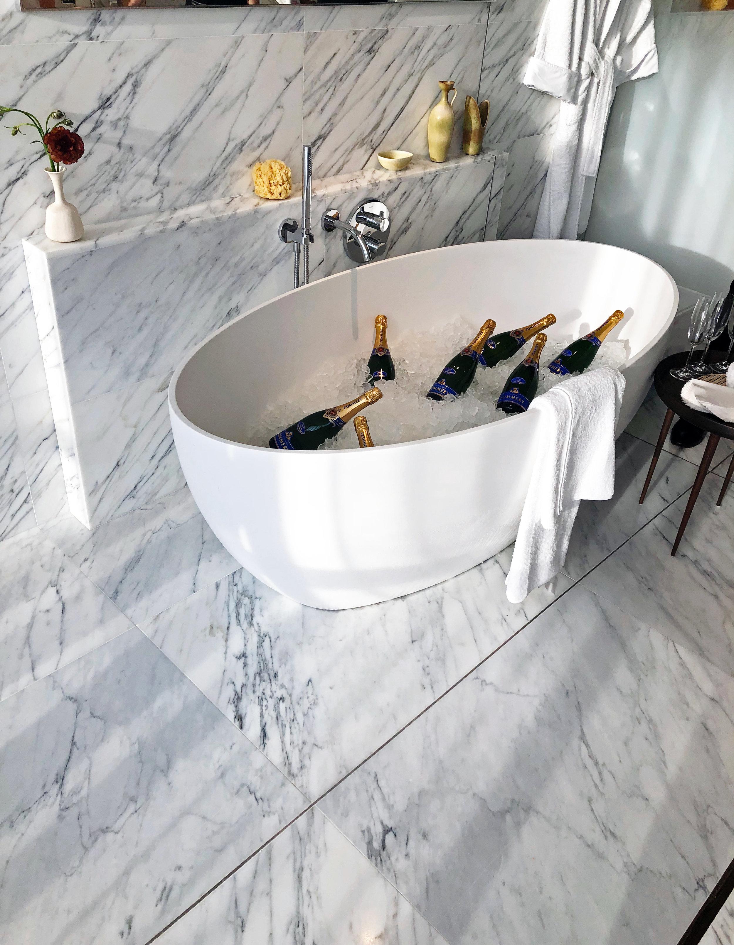 565 Broome Street Master bath