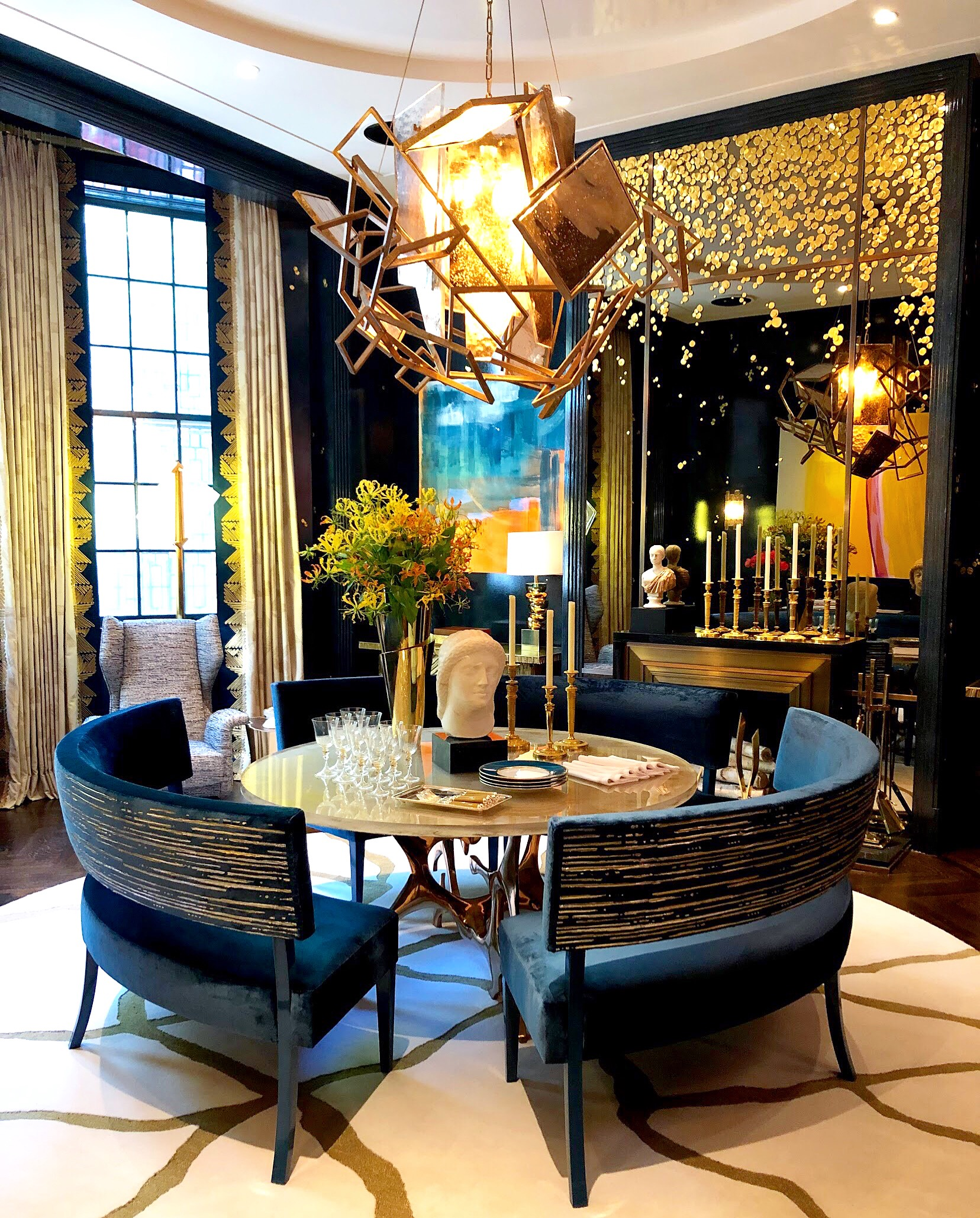 Dining Room by  Cullman & Kravis