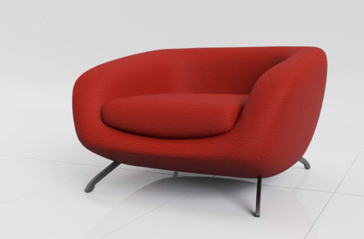 Spectra Armchair designed by  Jacques Borris