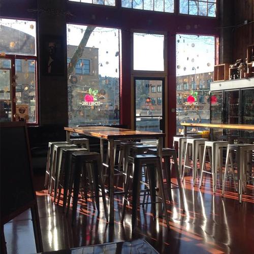 """Schilling Cider """"Tasting Room,"""" Fremont"""