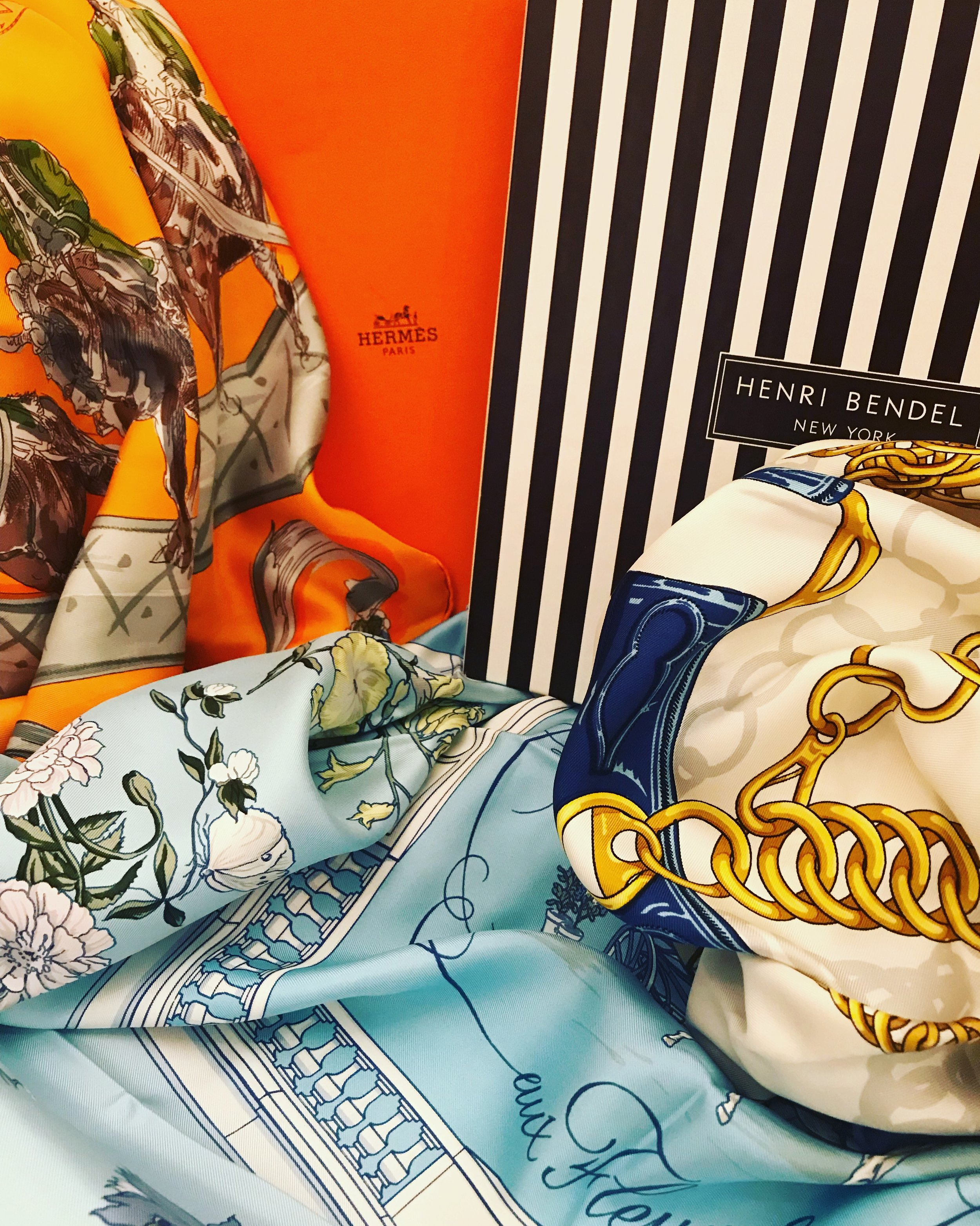 Hermes Scarves.JPG