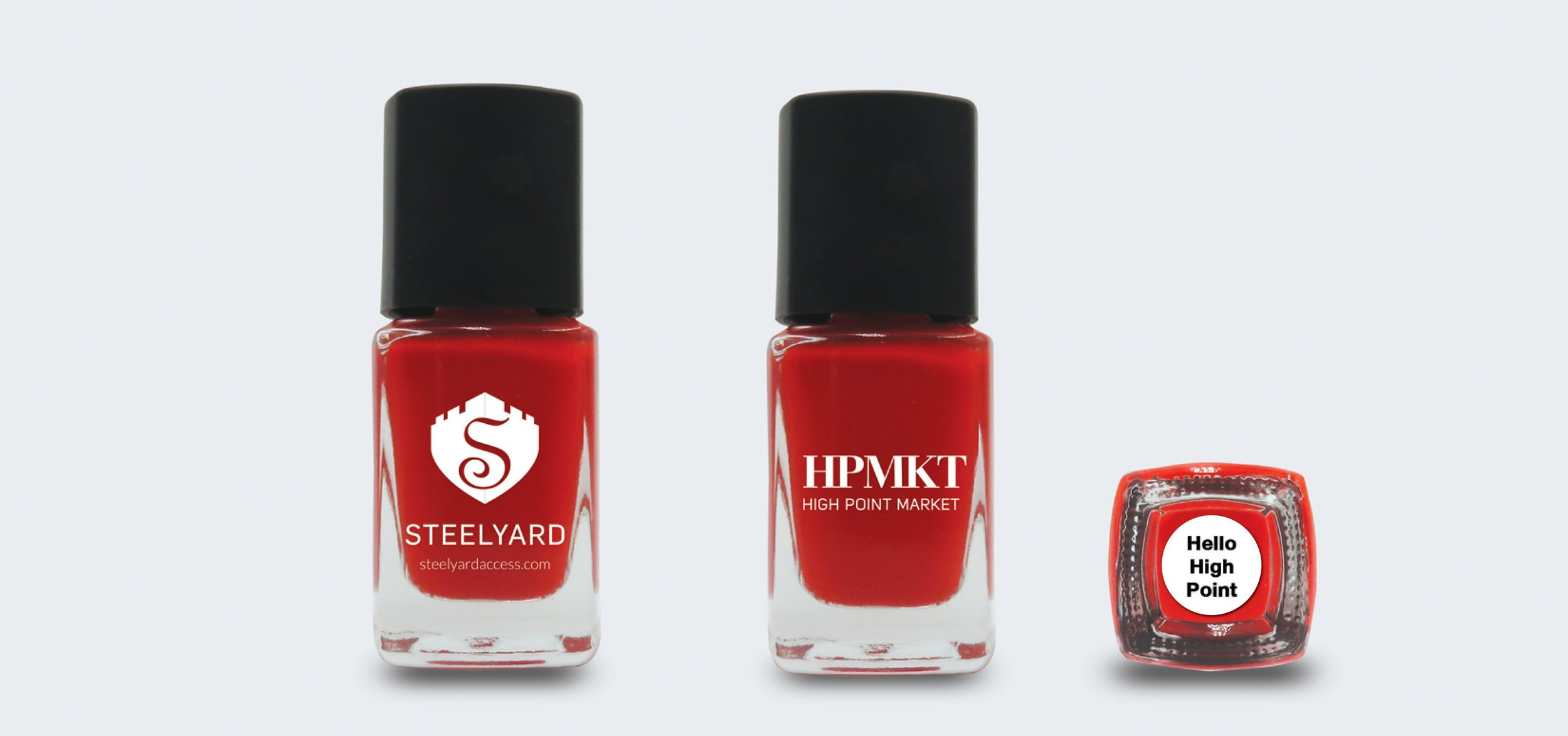 Steelyard has once again collaborated with 8 companies for the nail polish trail.