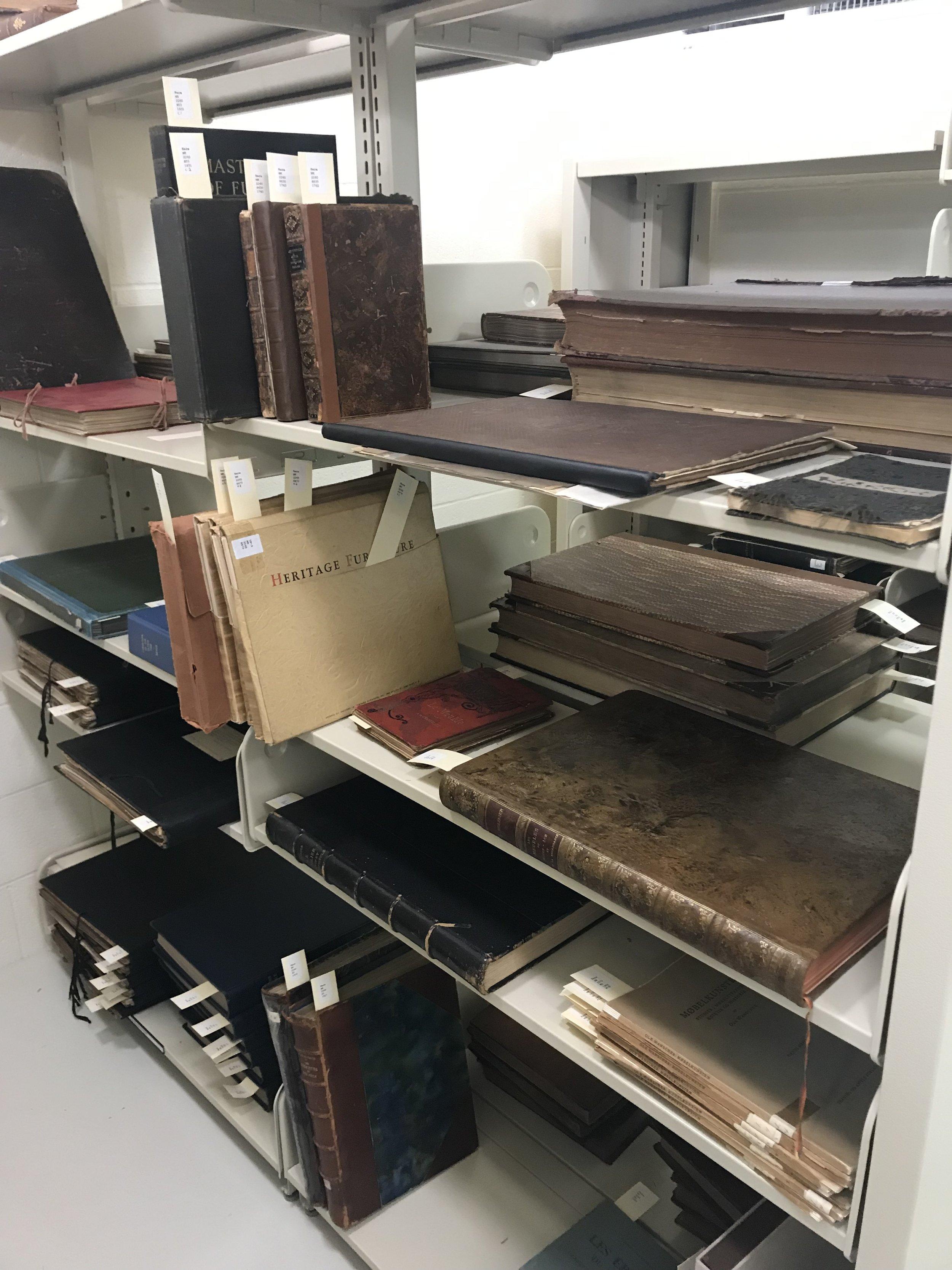 Inside the Rare Books Room