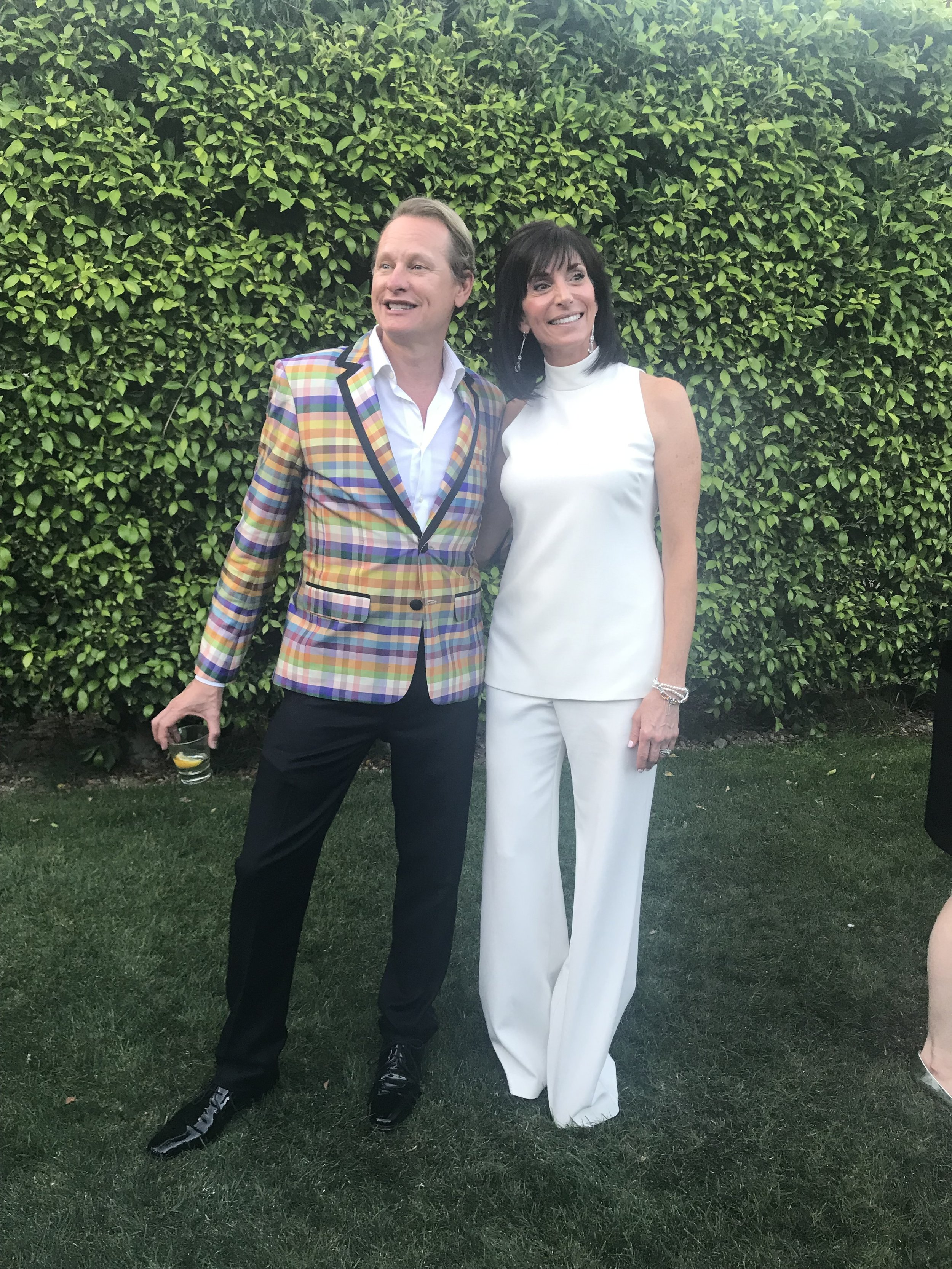 Carson Kressley and inteiror designer and award-winner Mary Norris of Chattanooga.