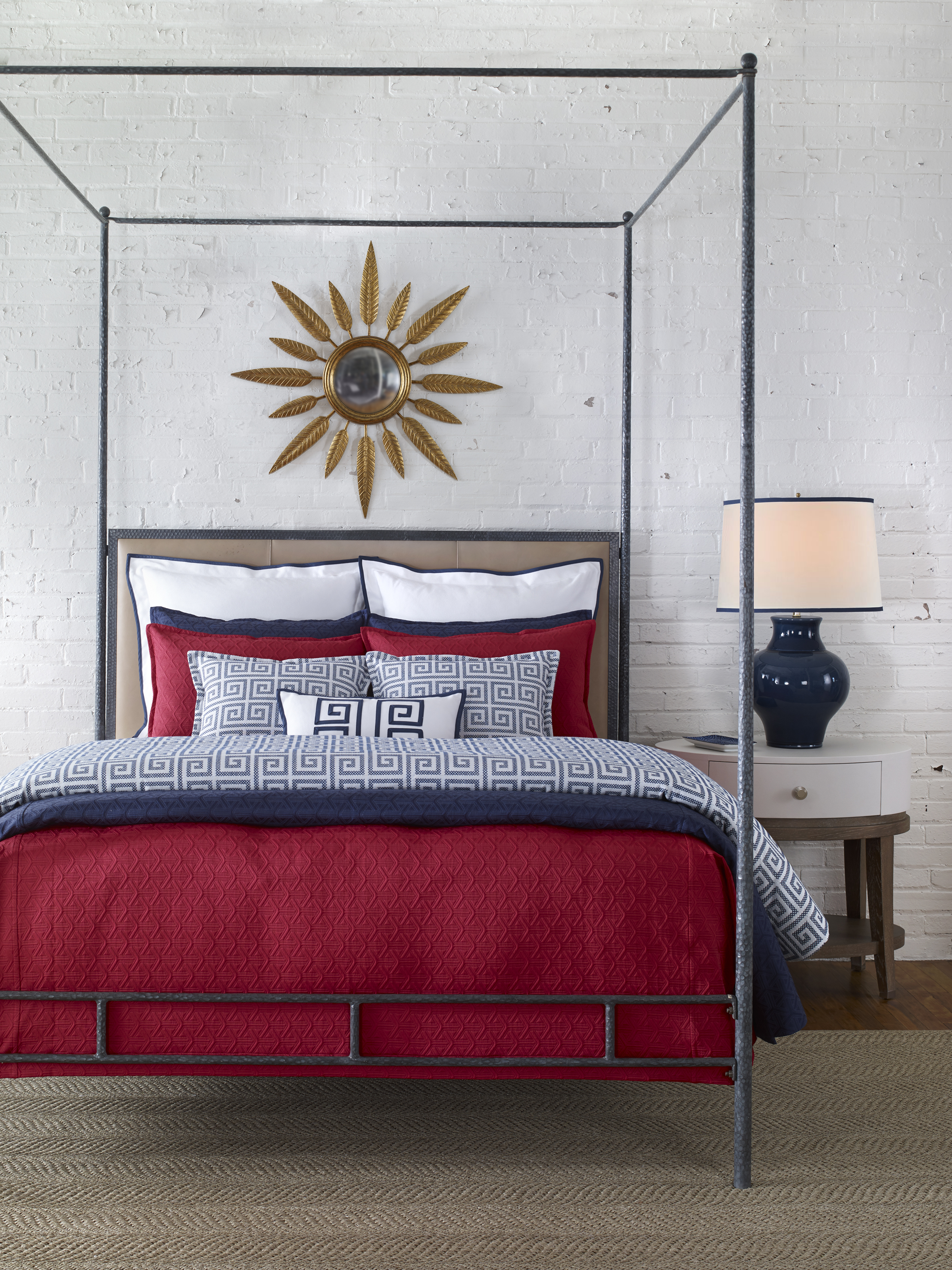 """Pacifica is a Tony Baratta design. Nancy describes the partnership as pure plaesure.. """"He's the real deal as far as a designer goes. He's groundbreaking and custom designs every detail from the actual color of the fabric to the finished product,"""" she says."""