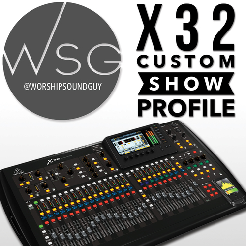Fantastic deal from Worship Sound Guy