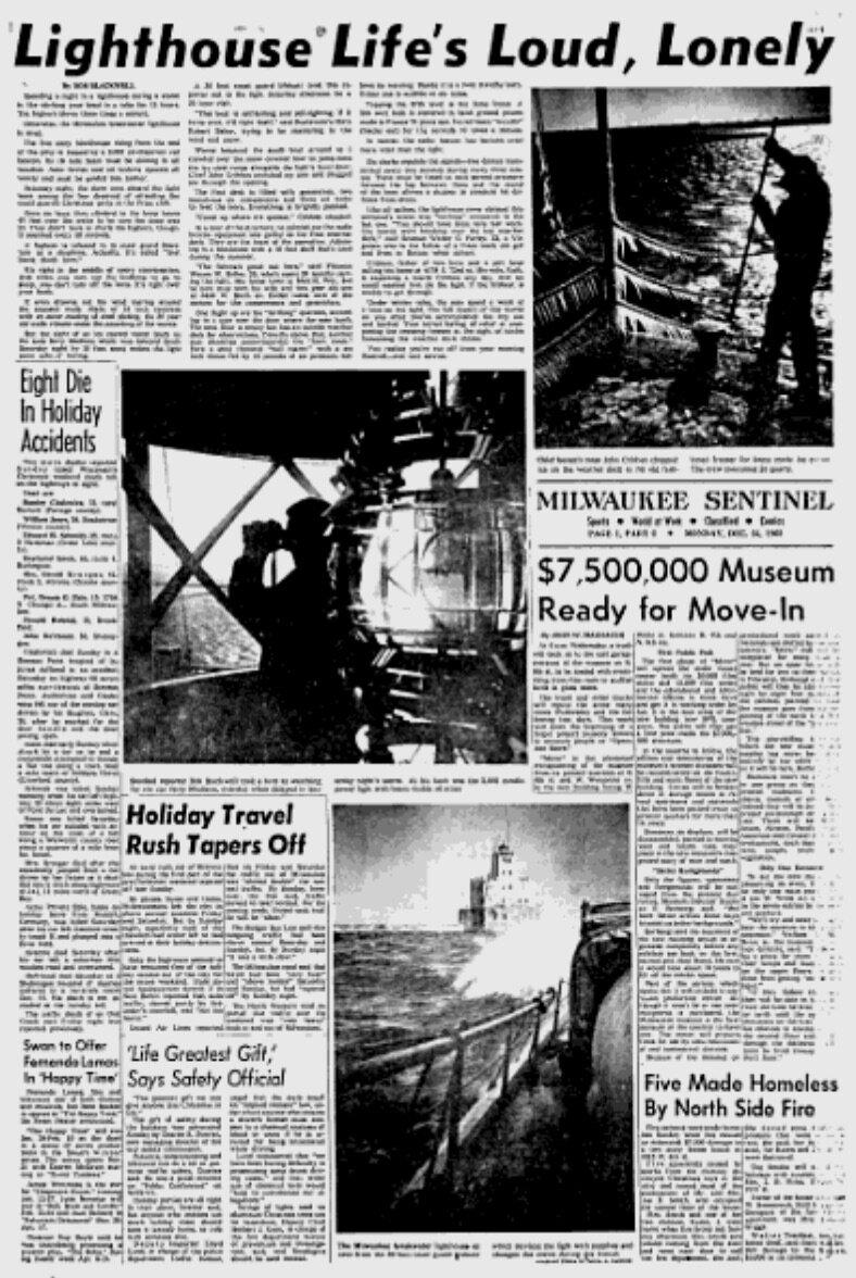 Journal Sentinel, December 1962