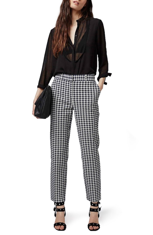 Topshop pants, $75;  nordstrom.com .