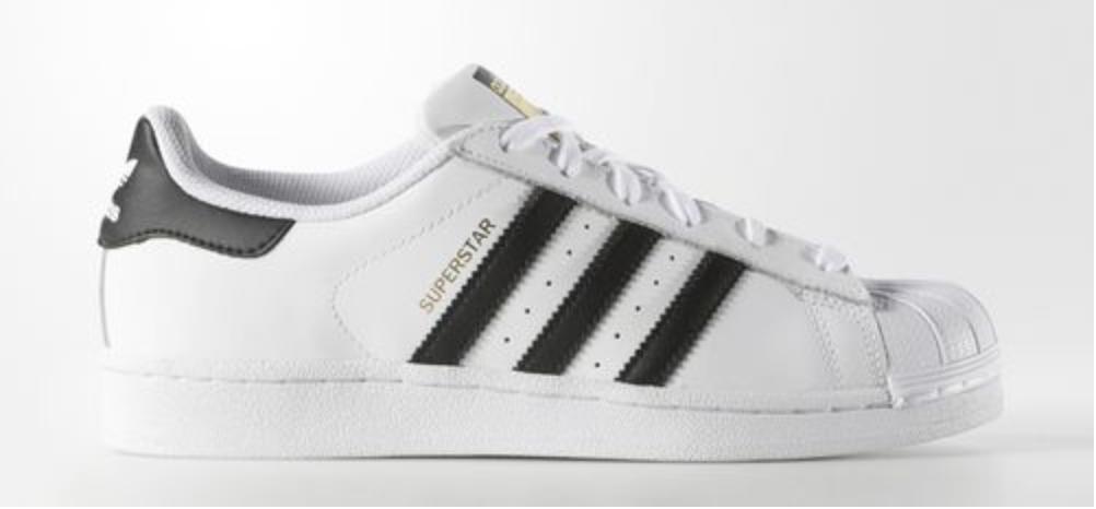 Adidas, Womens Originals Superstar Shoes, $80;  Adidas.com