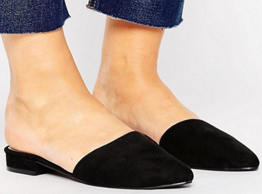 These are the flats you didn't know you needed. Perfect for everything from weekend errands to a night out. ASOS $25, asos.com.