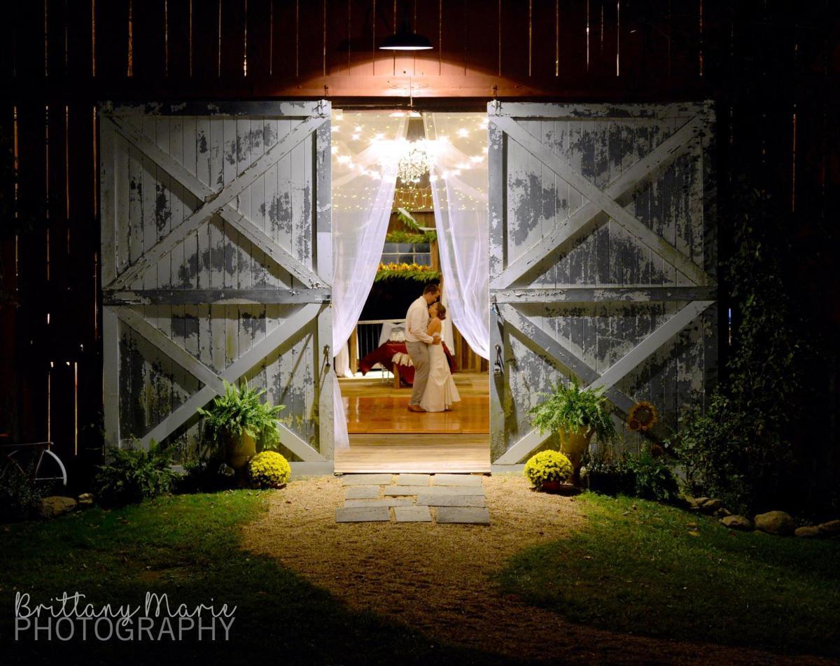 Venue: Winding Creek Farm; Photo: Brittany Marie Photography