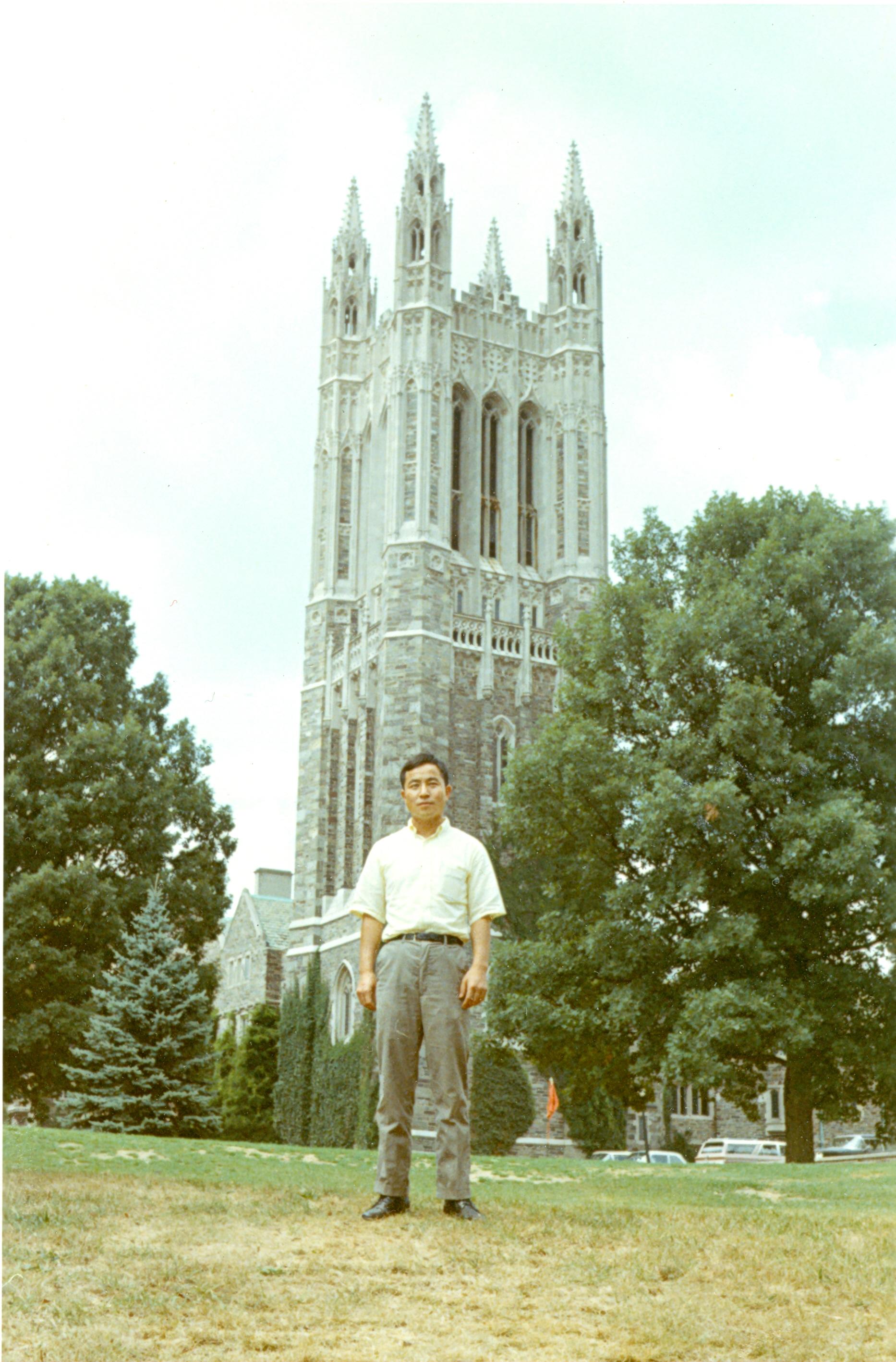 At Princeton University, 1968