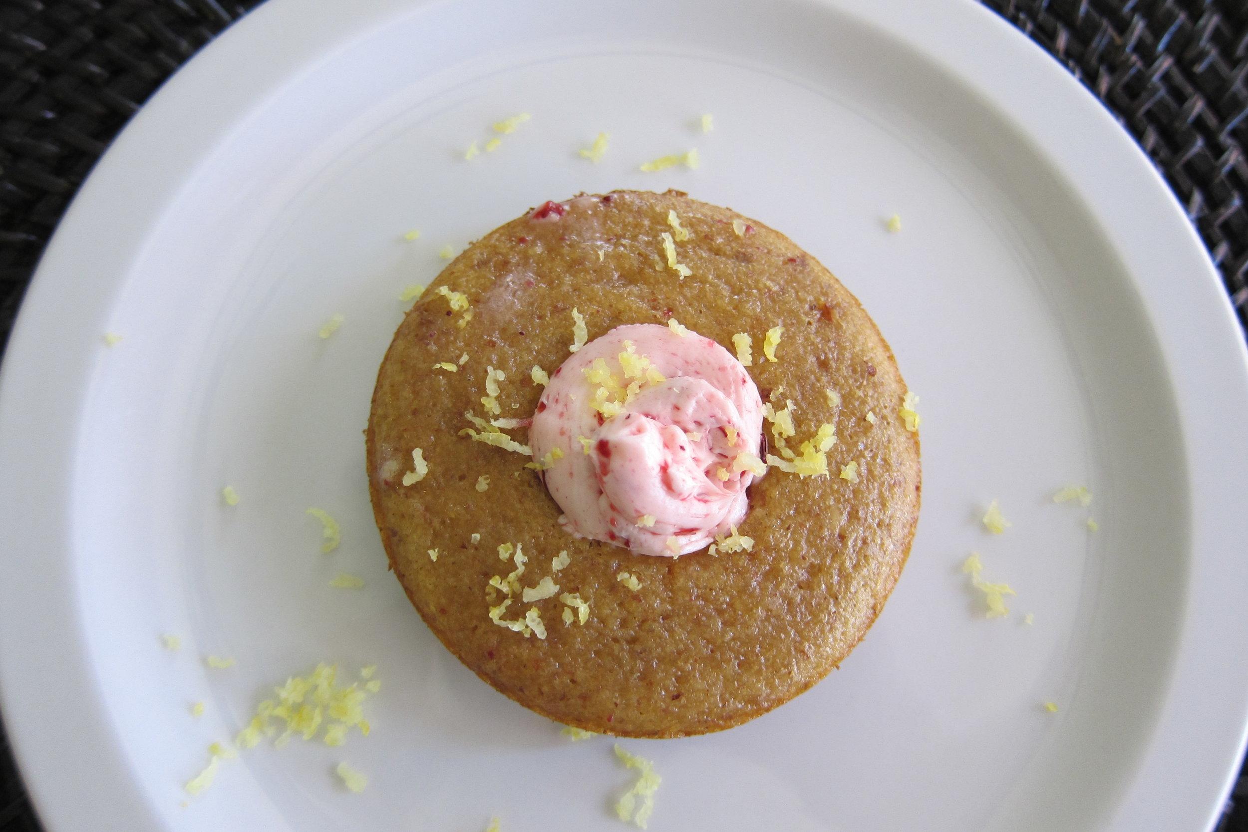 GLUTEN FREE Toaster Donuts (lemon, CACAO, cinnamon walnut)