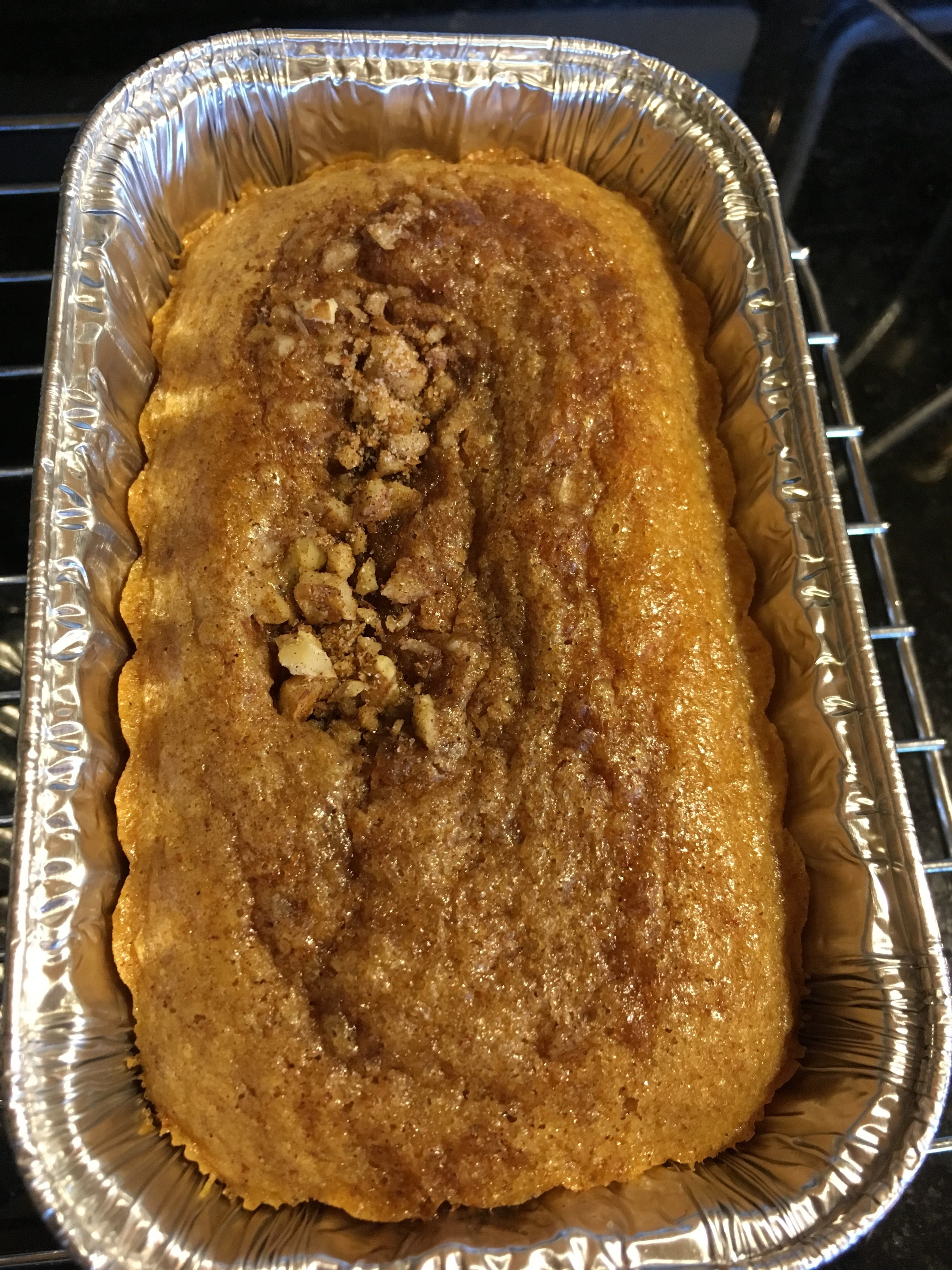 Gluten free pound cakes (CINNAMON WALNUT, LEMON, CACAO)