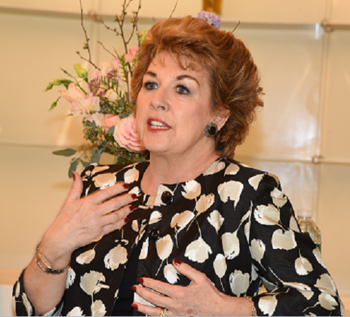 Ambassador Geraldine Byrne-Nason at the  2019 Program Launch  on February 7th.