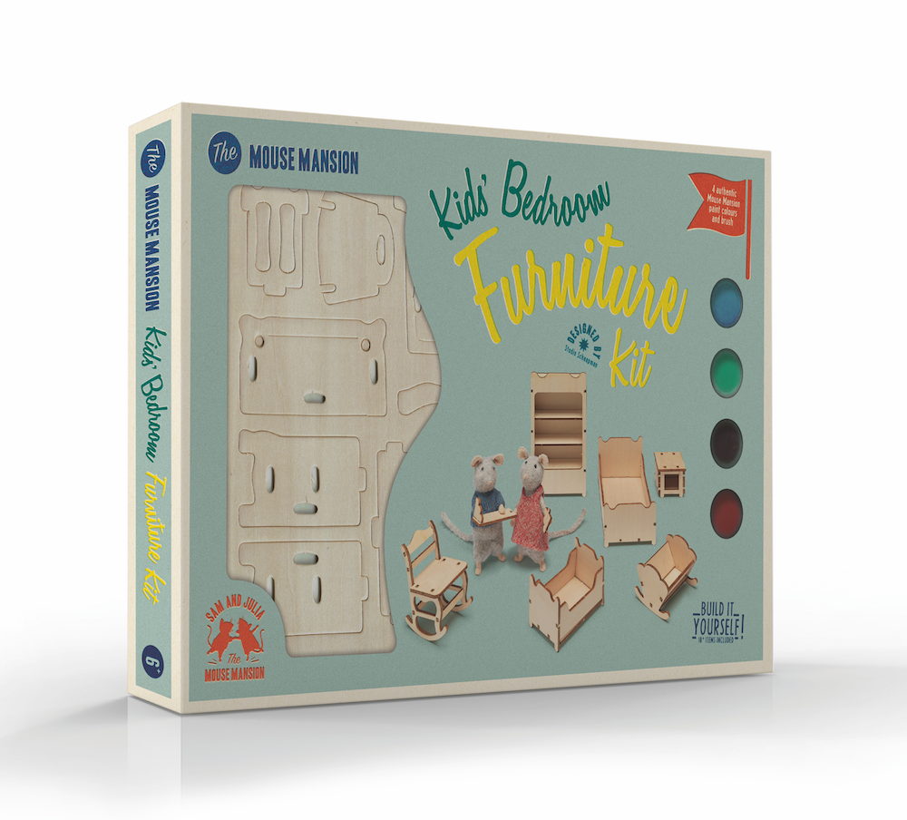 Mouse Mansion Furniture Kits! — The Mouse Mansion