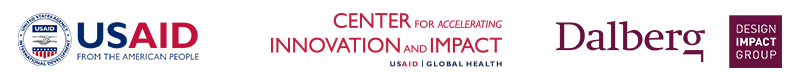 USAID's Center for Accelerating Innovation and Impact (CII) is partnering with Dalberg's Design Impact Group (DIG) to utilize HCD across the bureau's global health work. Please see the contact page to explore HCD for your work.