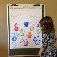 Praying hands from the family class