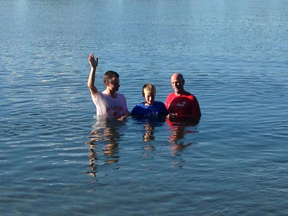 From our baptism service in August