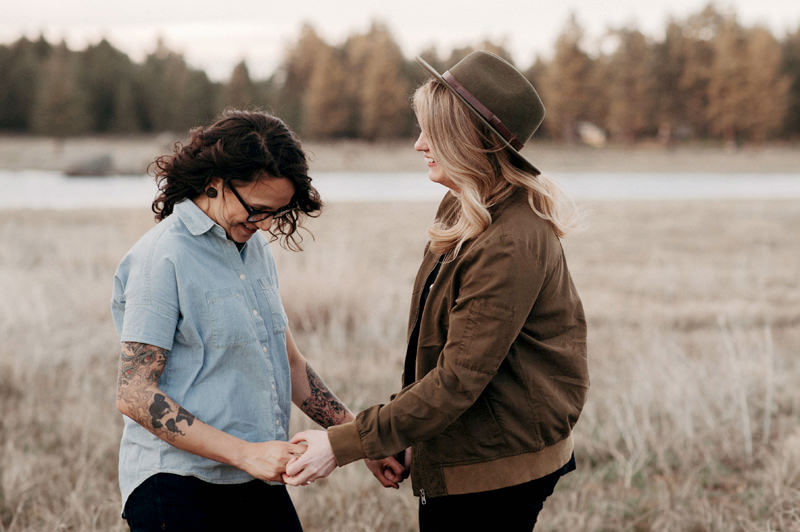 Engagement  | Mt. Laguna | Julian, CA | Courtney + Amber