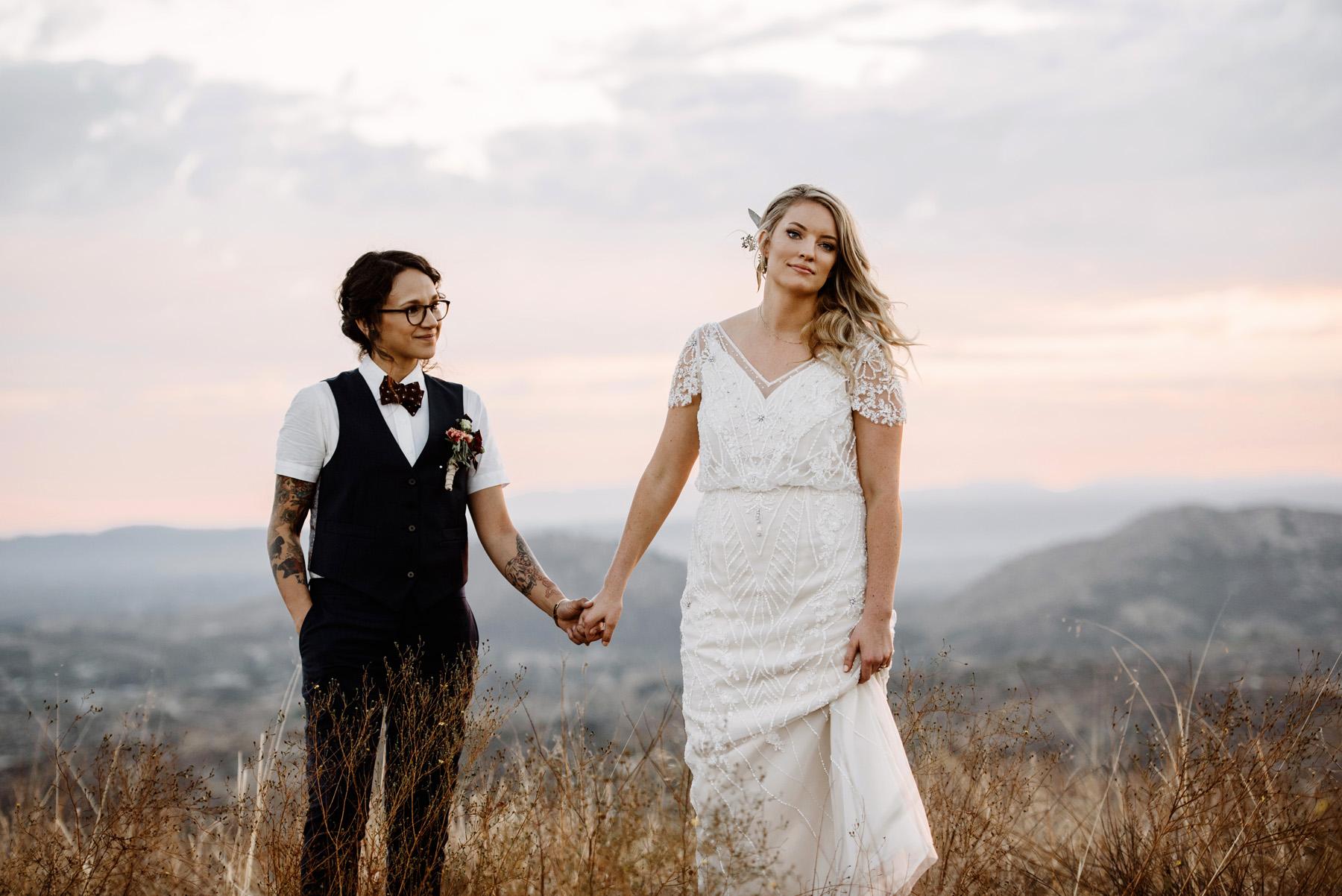Wedding  | Wolf Feather Honey Farm | Temecula, CA| Courtney + Amber