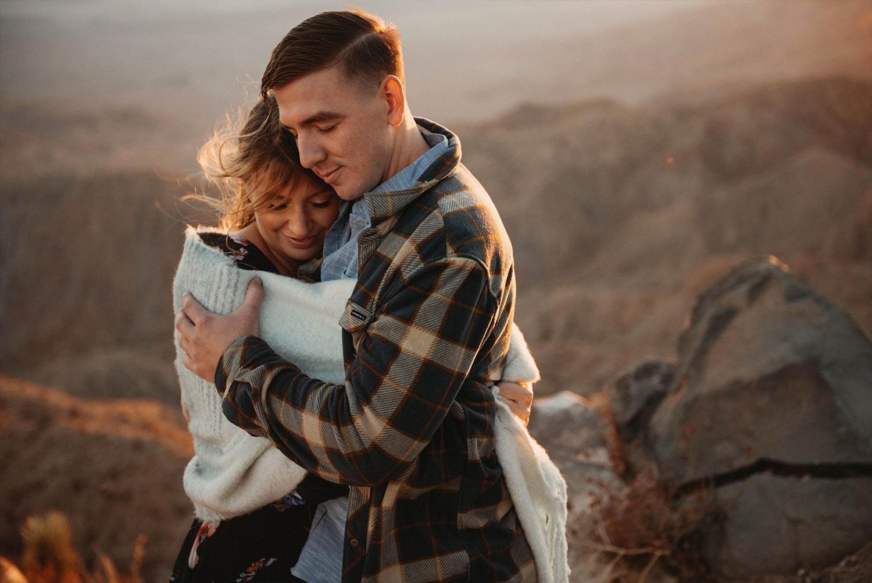 Adventure Engagement  | Joshua Tree, CA | Paige + Chris