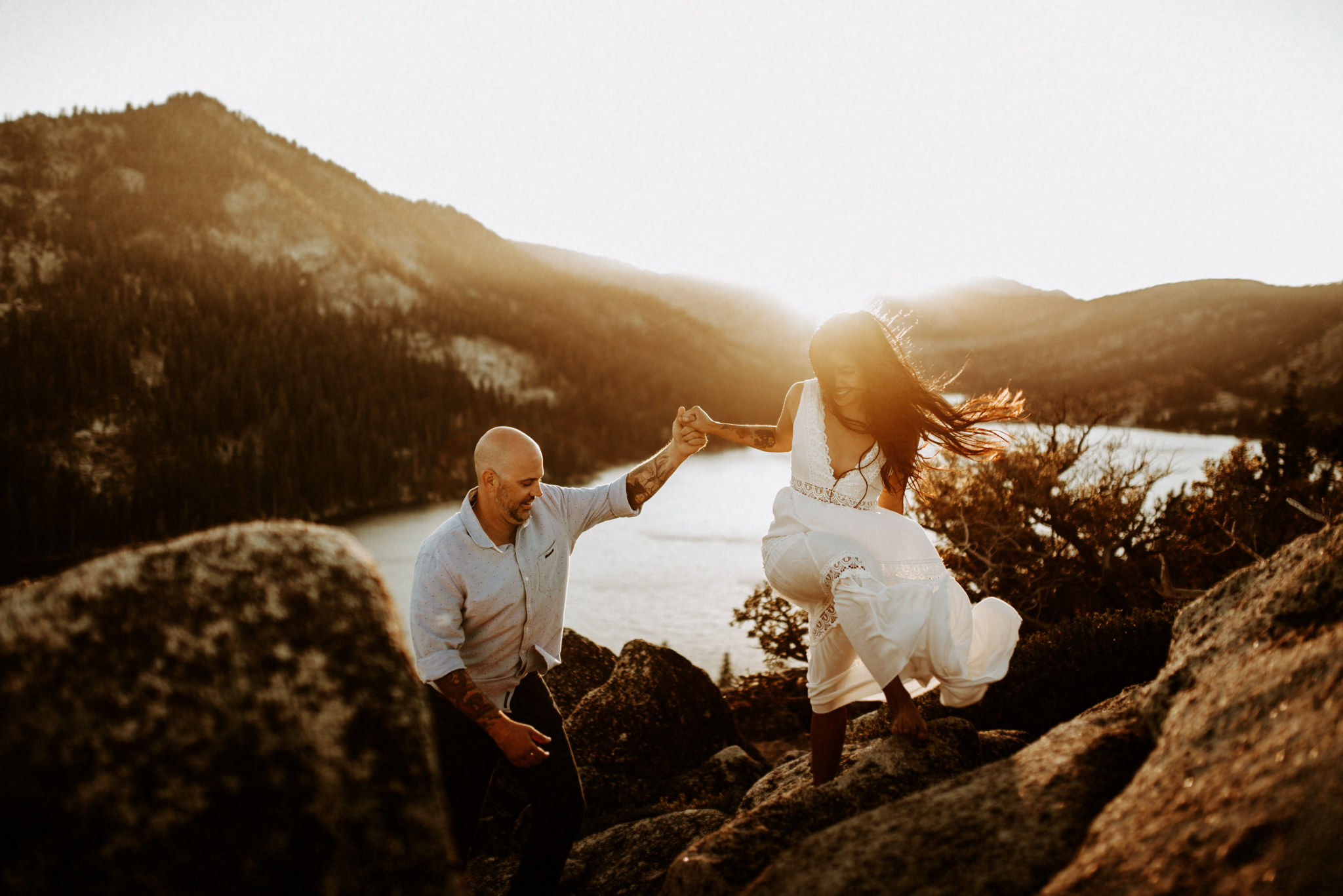 Lake Tahoe Wedding Elopement