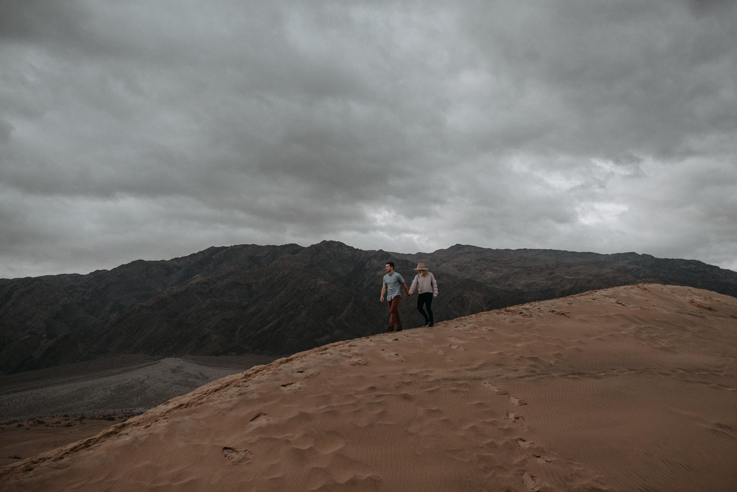 Death Valley Adventure Engagement Photo