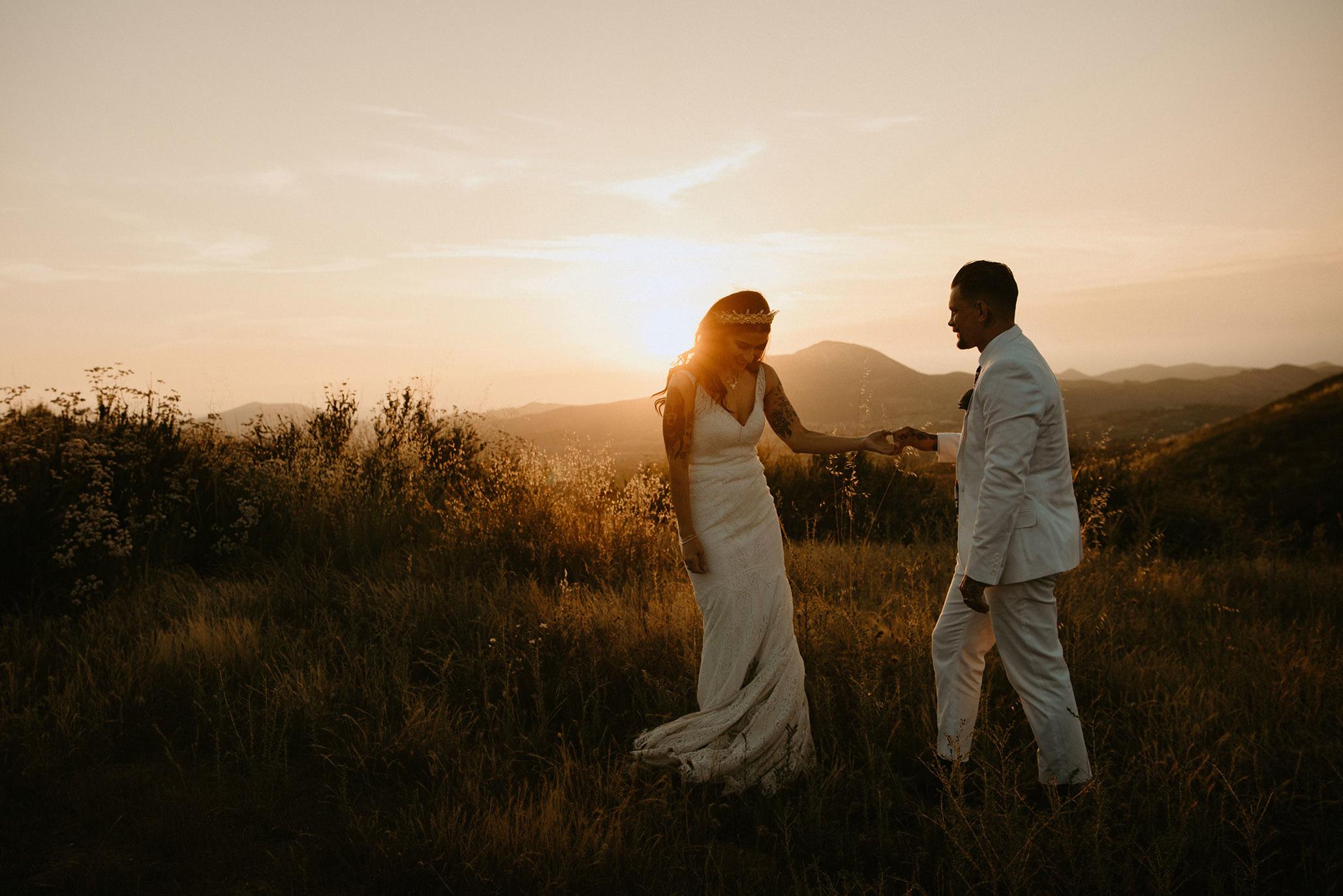 Wedding  | Wolf Feather Honey Farm | Temecula, CA | Christina + Garrett