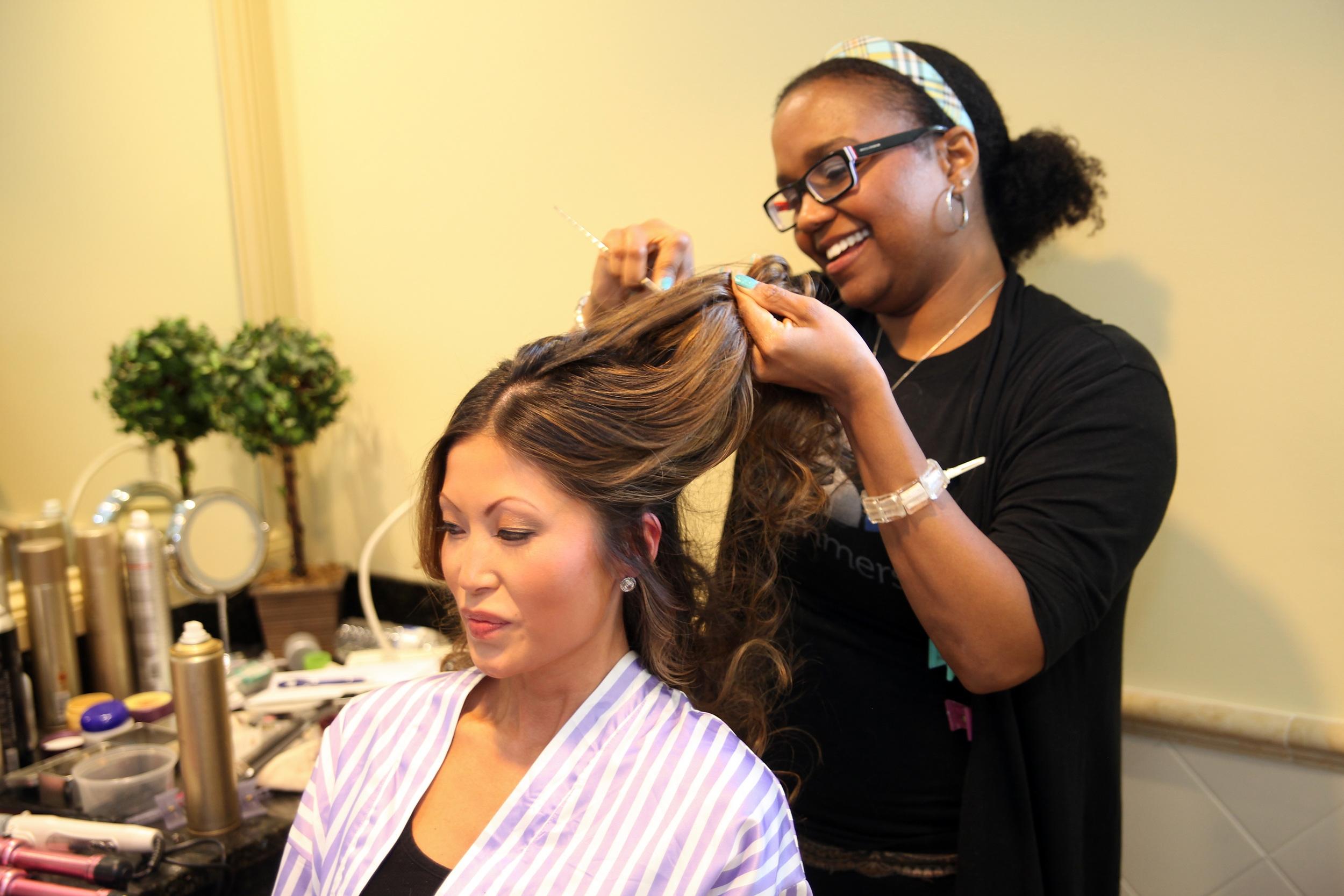 ERICA - CEO AND LEAD HAIR STYLIST