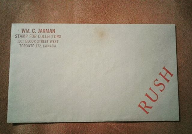 An envelope a friend found,,,my parents store in the 1970's. #beautiful  #memories