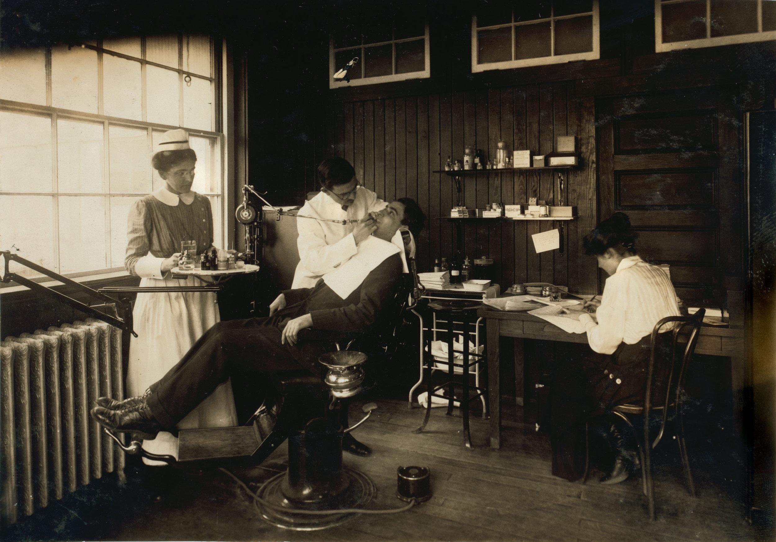 Old Dentist Photo