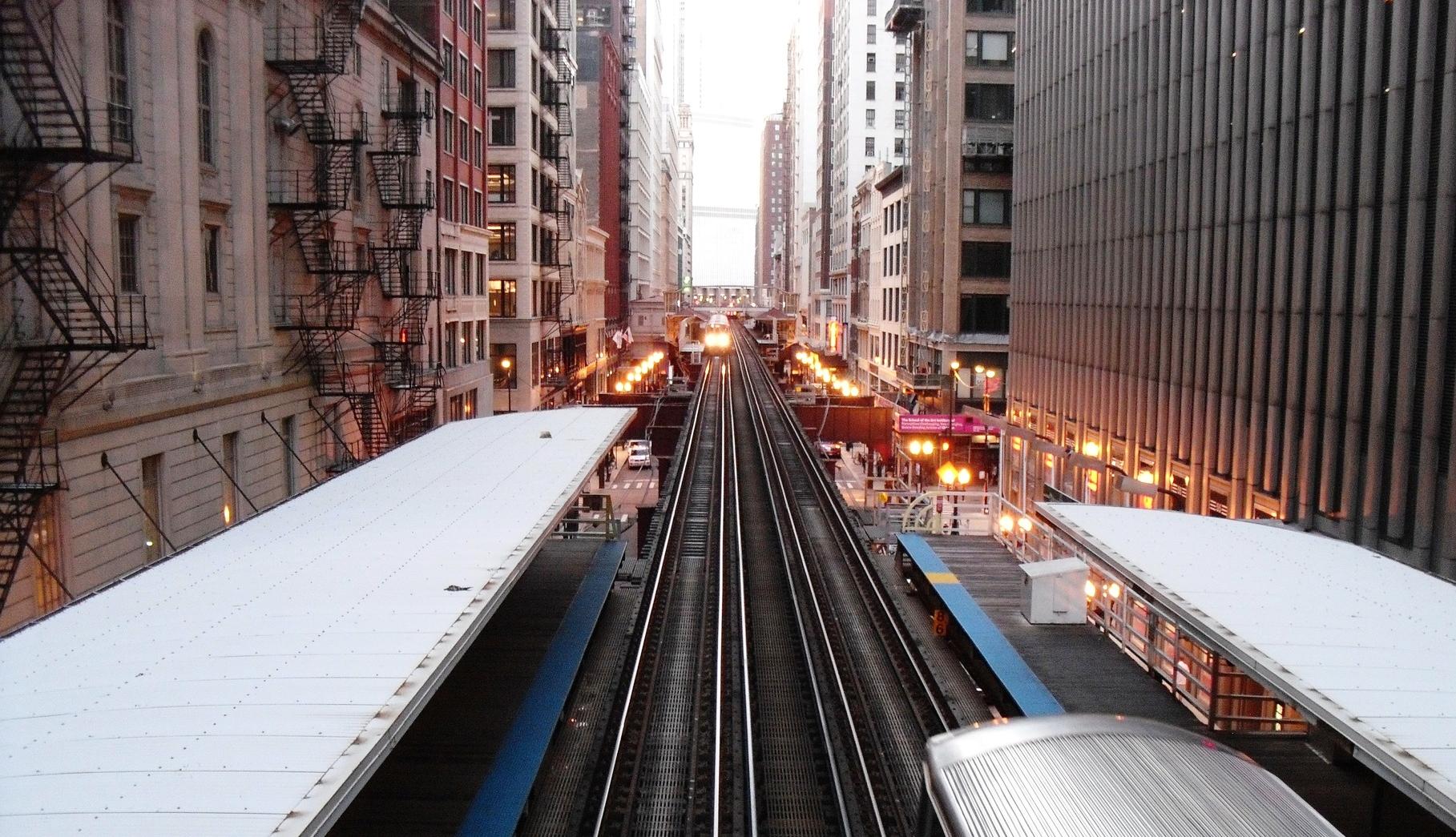 "La Metropolitana""L"" di Chicago"
