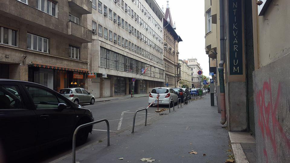 Honvéd street, Budapest. Photo by Péter Kusztos
